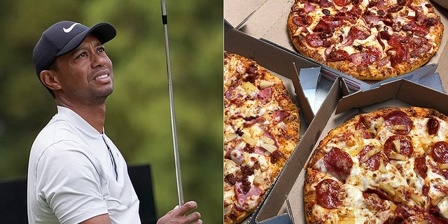 Westlake Legal Group tiger-woods-dominos-AP-Dominos Tiger Woods, other golf superstars get stuck in Japan Domino's during severe storm fox-news/world/world-regions/japan fox-news/sports/golf fox-news/person/tiger-woods fox-news/food-drink/food fox news fnc/sports fnc David Aaro article 0023f6cb-ef83-5743-896e-ad354af7141d
