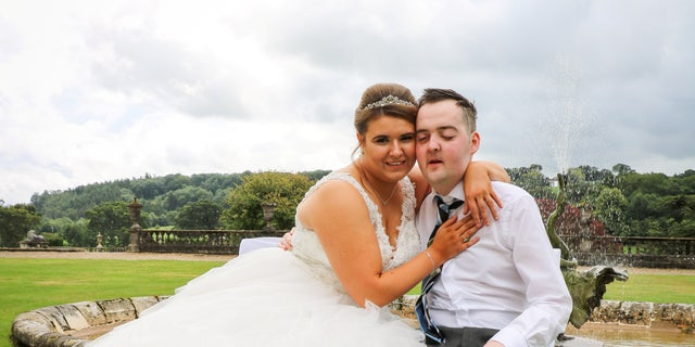 The ceremony, flowers, music, cake, photographer and honeymoon were donated to a couple..