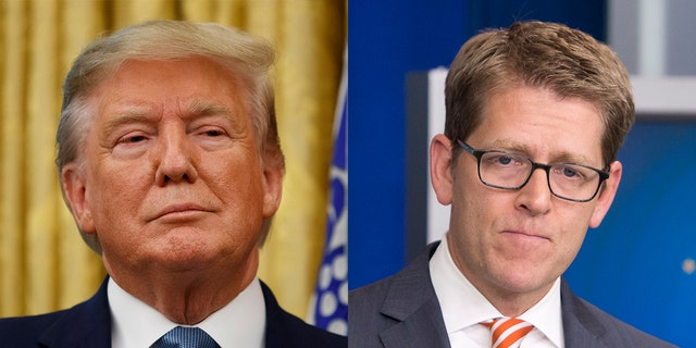 Amazon spokesperson Jay Carney responded to criticism of his comments about the Trump administration. (Fox News)
