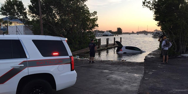 Police in Venice, Fla., reporteda happy ending to such a potentially tragic situation Thursday after an 81-year-old woman was rescued after spending 10 hours in a nearly-submerged vehicle.