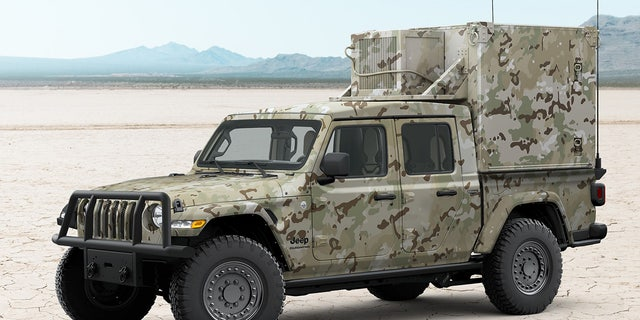The Gladiator XMT has been envisioned as a command and control vehicle.