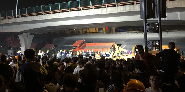 Bridge Collapse In China Kills Three, Two Injured