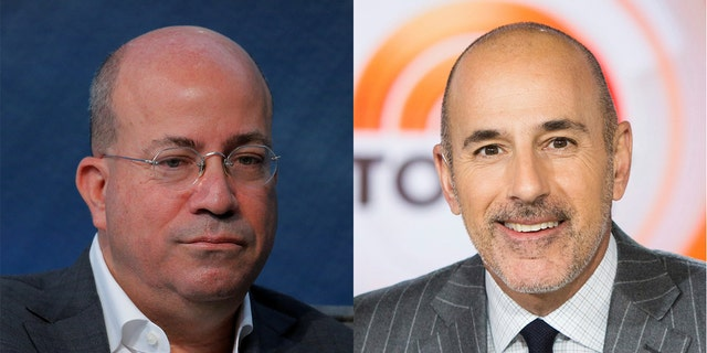 """CNN president Jeff Zucker was Matt Lauer's longtime boss at NBC's """"Today"""" show."""