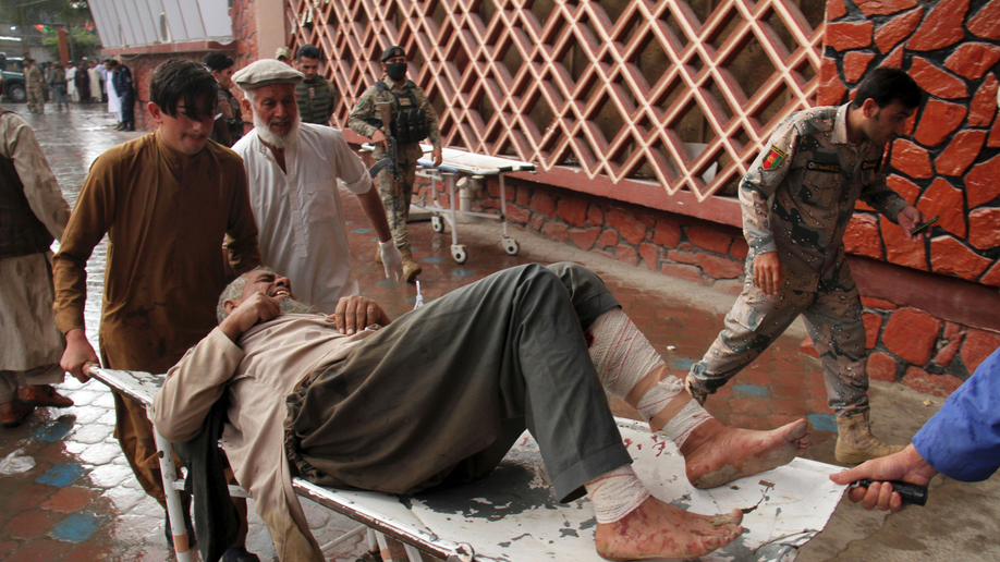 At least 62 killed in blast at Afghanistan mosque