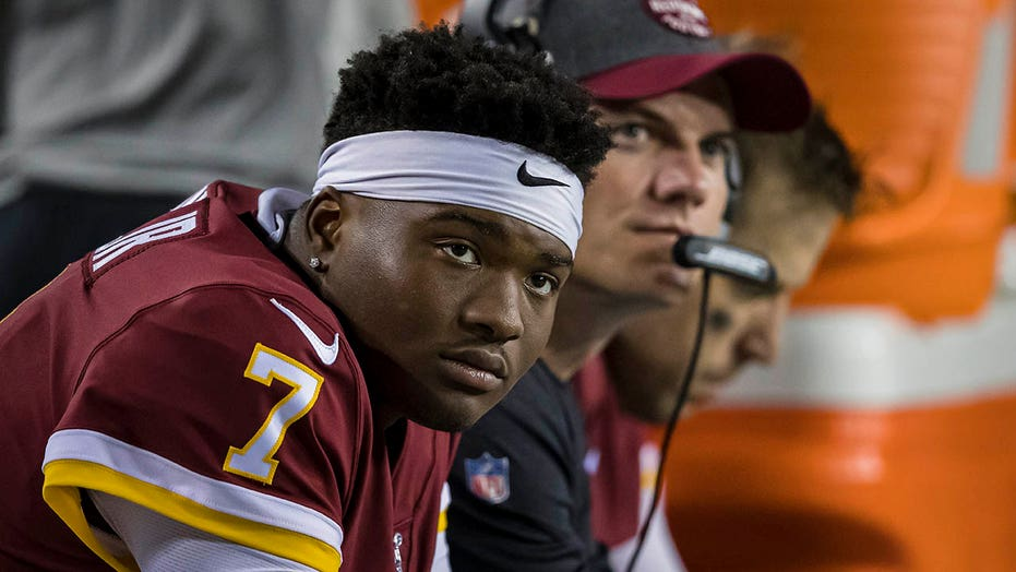 Washington Football Team scrutinized for benching Dwayne Haskins – a Black quarterback