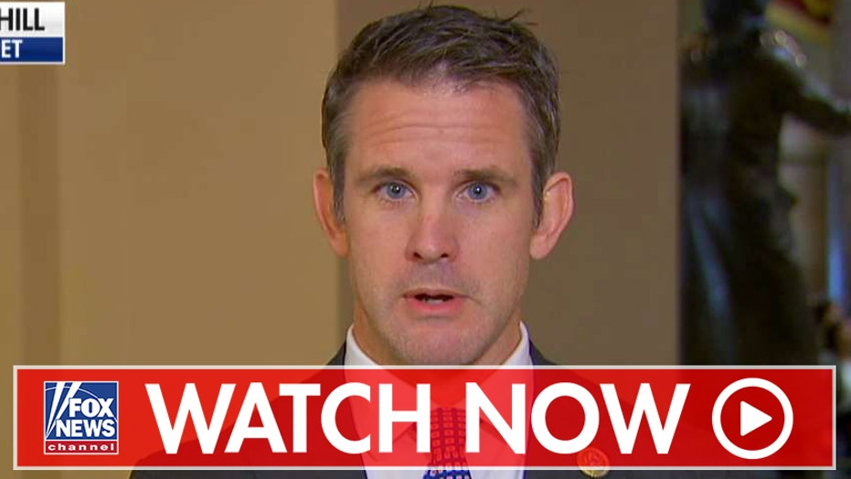 Adam Kinzinger reacts to Syrian cease-fire