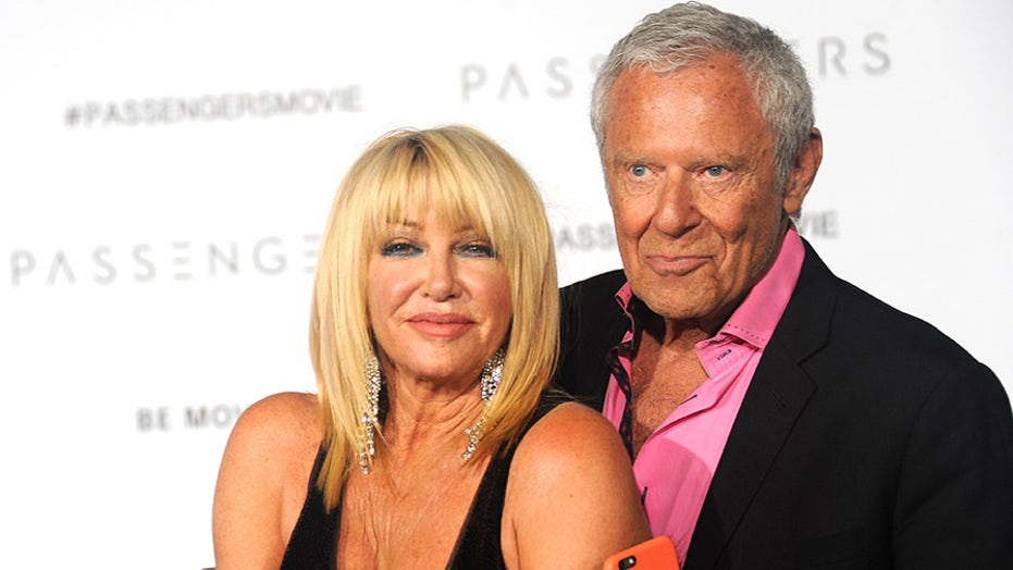 Suzanne Somers says she slept with Alan Hamel on their first date after having a pot brownie: 'He was the one'