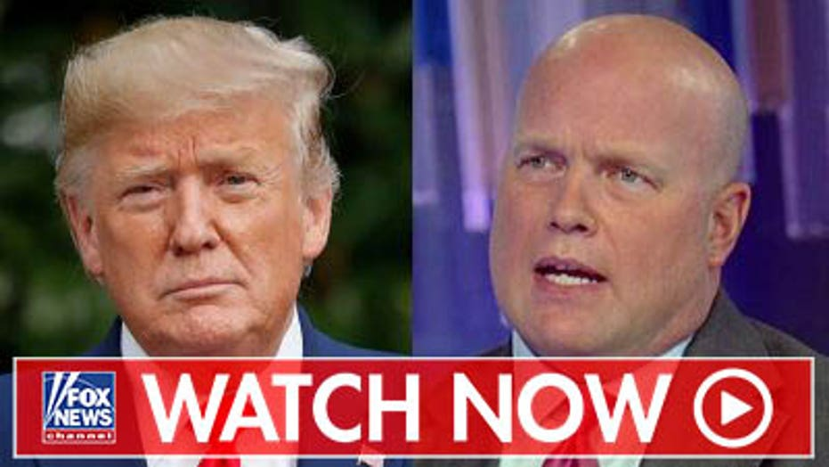 Matt Whitaker defends Trump amid impeachment probe