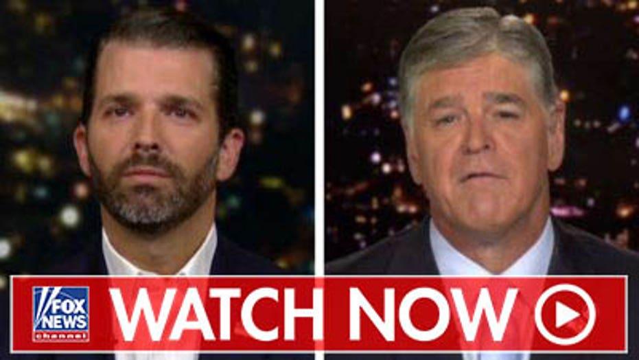 Donald Trump Junior blasts Adam Schiff over impeachment probe