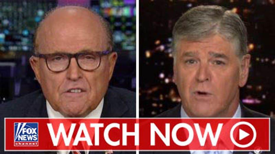 Rudy Giuliani discusses his Ukraine investigation