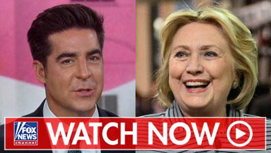 Jesse Watters discusses potential Hillary Clinton-Donald Trump rematch