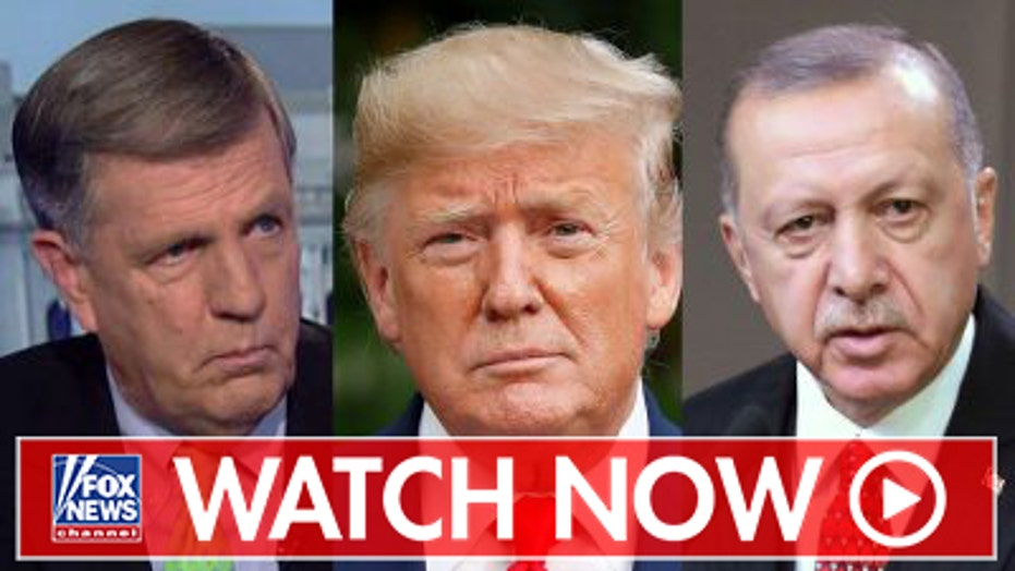 Brit Hume on the political fallout from President Trump's Syria strategy