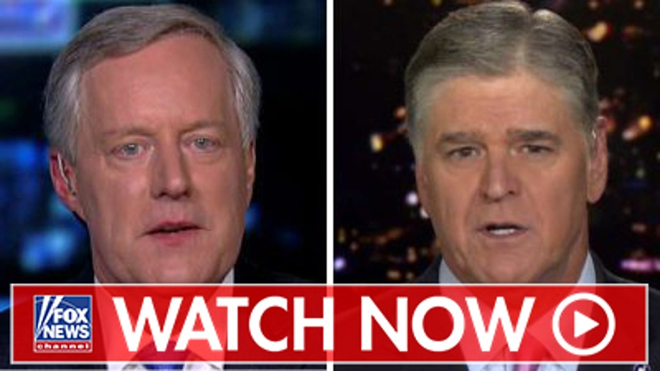 Mark Meadows says Adam Schiff should call whistleblower to testify