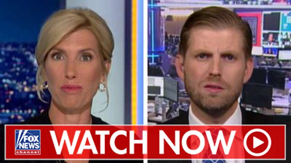 Eric Trump reacts to Hunter Biden interview