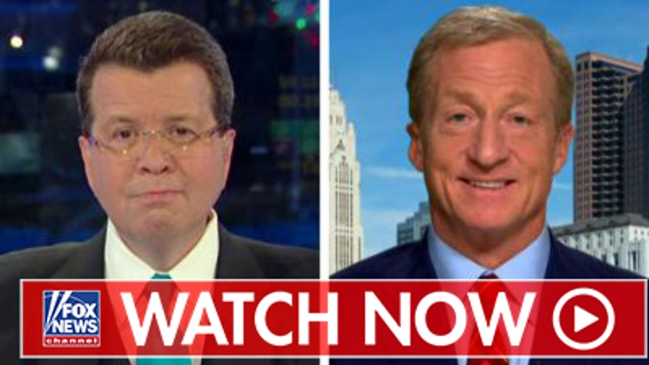 Tom Steyer talks 2020 with Neil Cavuto on 'Your World'