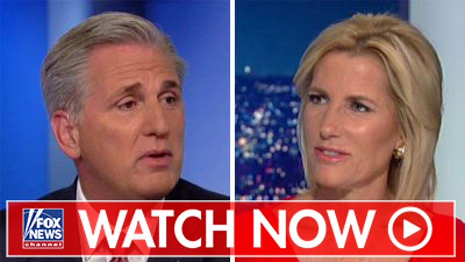 Kevin McCarthy blasts Democrats' impeachment inquiry