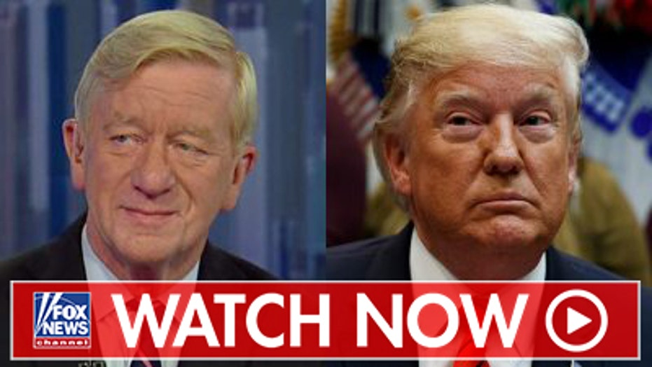 William Weld talks 2020 Republican bid against Trump amid attacks on Never-Trumpers
