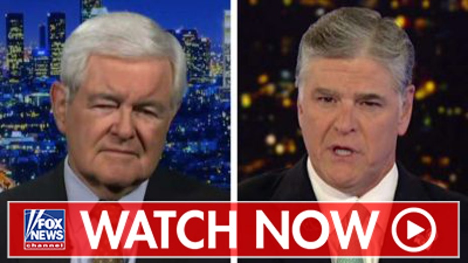 Newt Gingrich reacts to current state of impeachment inquiry