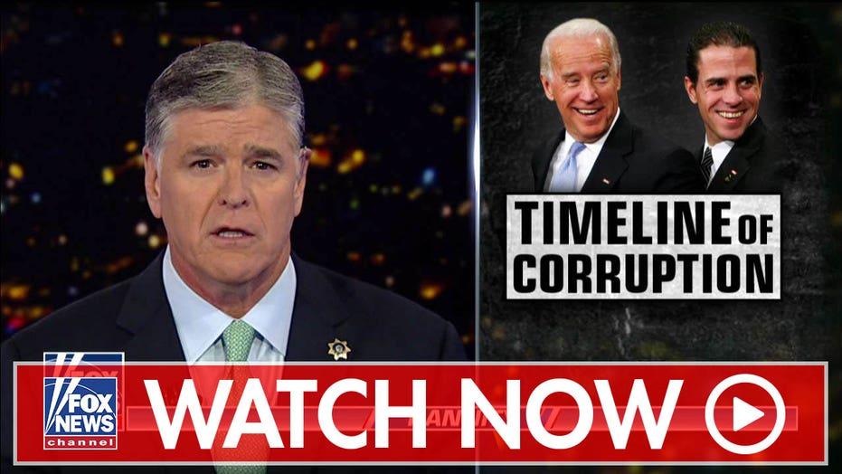 Sean Hannity examines the Biden timeline of corruption