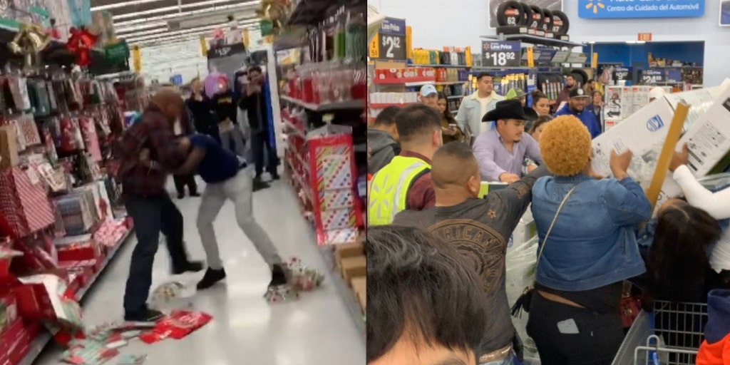 Black Friday Fights Caught On Video Land Shoppers On Santa S Naughty List Fox News