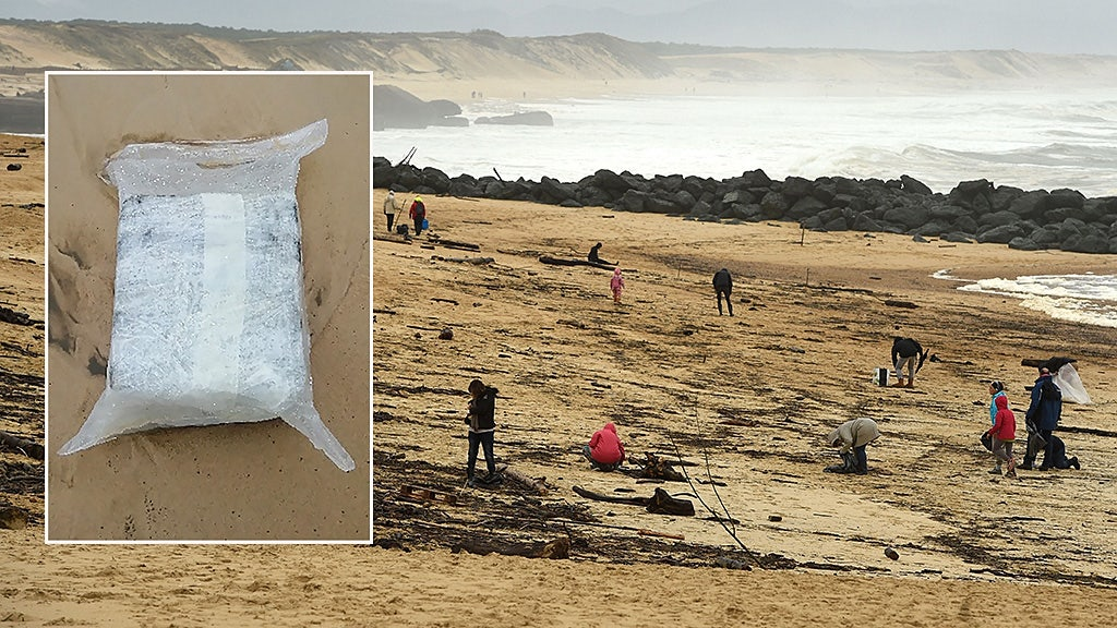 Popular beaches closed after 'very pure' cocaine washes up daily