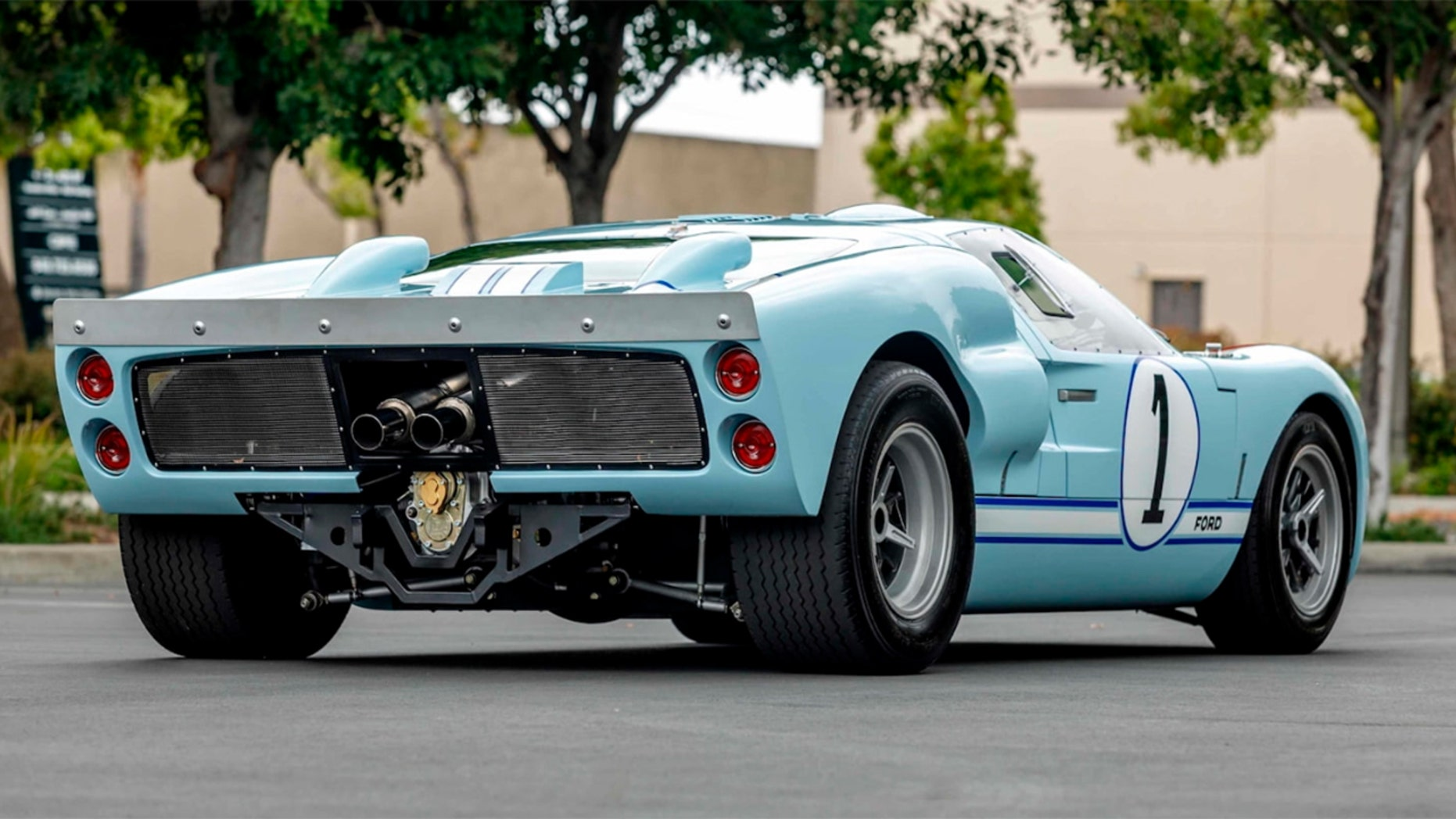 Christian Bale's Ford GT40