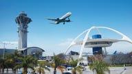 Plane departing LAX suffers engine failure, spews flames