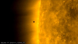 Mercury transits across the sun: See the photo