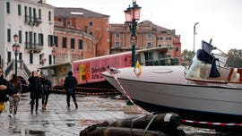 Venice hit with historic high tide, concerns for artwork, mosaics