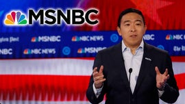 Andrew Yang supporters gathered outside MSNBC debate blasting network's treatment of candidate