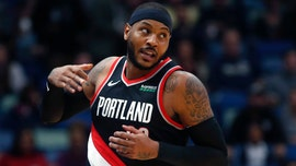 Carmelo Anthony makes debut with Portland Trail Blazers after more than year off court