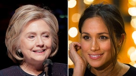 Hillary Clinton suggests UK media's Meghan Markle coverage is racist