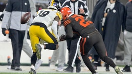 Cleveland Browns' Demarious Randall says he's gotten death threats over helmet-to-helmet hit