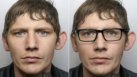 British robbery suspect apparently tried to use pair of glasses to trick police