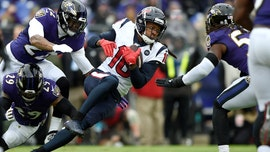 Houston Texans' DeAndre Hopkins takes shot at NFL official over pass interference no-call