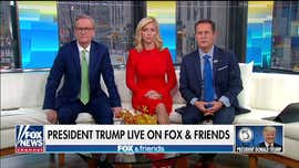 Trump on 'Fox & Friends': House Dems 'looked like fools' this week, upcoming FISA report will be 'historic'