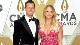 Miranda Lambert sparkles on the CMAs red carpet with husband Brendan McLoughlin