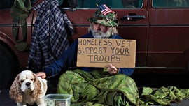 Homelessness among veterans dropped slightly as of January of this year, White House says