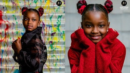 Girl, 8, rocks photo shoot after being denied school picture for hair extensions