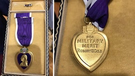 Medal of Honor recipient's Purple Heart purchased at gun show, donated to school decades after it vanished