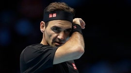 Roger Federer stays busy during coronavirus pandemic with tennis trick shots