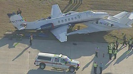 Private planes in runway crash at Texas airport