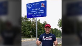 Virginia man supports Trump by adopting highways in his honor