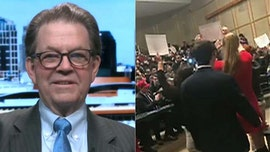 Art Laffer shouted out of campus lecture by protesters: They 'clearly don't want free speech'