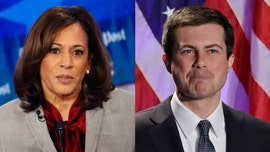 Kamala Harris responds to Buttigieg's 'Black America' photo gaffe during debate: It 'speaks to a larger issue'