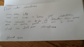 UK girl, 7, writes heartbreaking letter to Santa, prompts pledges of donations after going viral