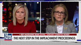 Sandra Smith challenges Dem lawmaker's claim impeachment hearings showed 'incredibly convincing testimony'