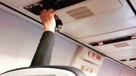 Passenger shamed for using plane air vent to dry 'sweaty socks'