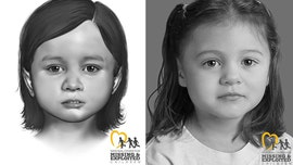 Delaware police release facial reconstruction images after finding remains of young girl
