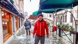 Venice flooding shocks couple hoping for romantic getaway; tourists say water 'had risen within 15 or 20 minutes'